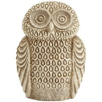 Embossed Ceramic Owl