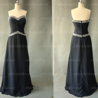 black prom dresses, chiffon prom dresses, dresses for prom, prom dresses 2014, cheap prom dresses, cheap bridesmaid dresses, RE567
