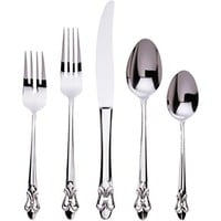 Gingko Fleur De Lis 20-pc. Flatware Set