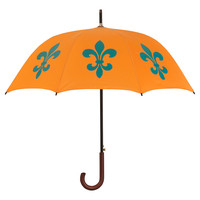 Walking Stick Umbrella, Fleur-de-LisTHE SAN FRANCISCO UMBRELLA COMPANY