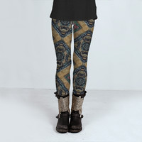 Traditional Pattern by Daniel Ferreira-Leites (Leggings)