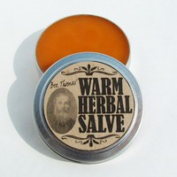 Muscle Rub Balm Salve for Aches Pains Joints Warming Spices & Oils