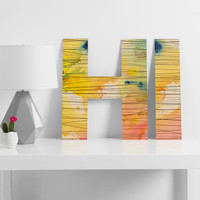 Susanne Kasielke Stripy Collage Decorative Letters
