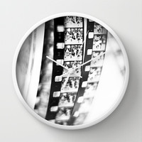 captured memories Wall Clock by ingz