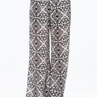 Tile Me About It Tribal Palazzo Pants