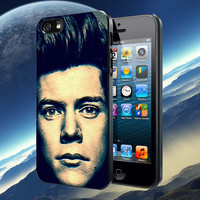 Harry Styles close up face pattern Accessories, iPhone 4/4S,iPhone 5/5S/5C,Samsung Galaxy S3/S4, Case, Samsung Galaxy Case,Rubber Case
