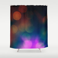 Rainbow Shower Curtain by Yoshigirl
