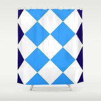 ARRRRRgyle Shower Curtain by Pop E. Carp