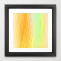 Re-Created Vertices No. 20 Framed Art Print by Robert S. Lee