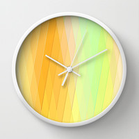 Re-Created Vertices No. 20 Wall Clock by Robert S. Lee