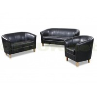 Heartlands Furniture Claridon PU Leather 2 Seater Sofa