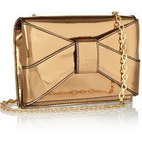 ZAC Zac Posen Shirley patent-PVC shoulder bag – 45% at THE OUTNET.COM