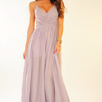 PRE-ORDER: Wherever Love Goes Dress: Lavender | Hope's