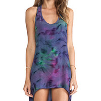 This is a Love Song Melody Singlet Dress in Tie Dye 1 from REVOLVEclothing.com