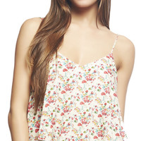 Floral Crop Swing Tank | Wet Seal