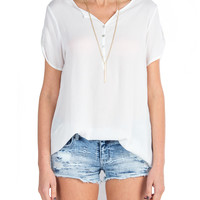 Loose Short Sleeve Top