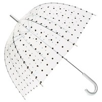 Capelli of New York Polka Dot Dome Umbrella (Juniors) | Nordstrom