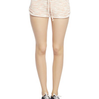 Space Dye Dolphin Short | Wet Seal