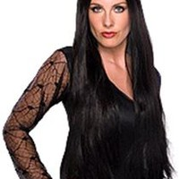 Deluxe Black Witch Wig 28in