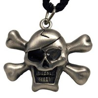 Flash Skull Necklace