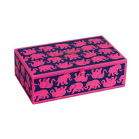 Large Glass Storage Box - Lilly Pulitzer