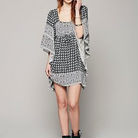 Free People Womens Heart of Gold Mini Dress -