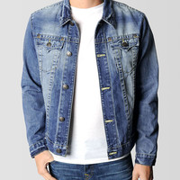 MENS JAKE DENIM WESTERN SHIRT