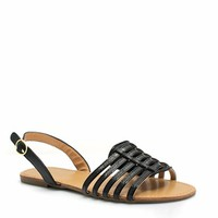 More Adventurous Faux Leather Sandals - GoJane.com