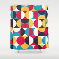 Orbit Shower Curtain by All Is One