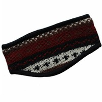 Silly Yogi Winter Woolen Knit Fleece Lined Headband