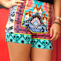 Fly Me Away Shorts: Multi | Hope's