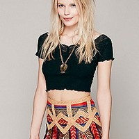 Sweet Shoulders Crop Top