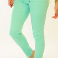 She's Got Good Genes Pants: Mint | Hope's