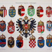 Coats of Arms, Austro-Hungarian Empire