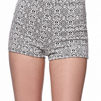 LA Hearts Uber High Rise Hot Shorts at PacSun.com