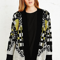 Staring at Stars Multi-Square Cardigan - Urban Outfitters