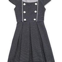 Striped Princess Dress (Kids)
