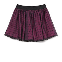 Swiss Dot Lace Skirt (Kids)