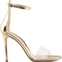 GIANVITO ROSSI glitter sandals