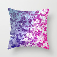 Refresh Throw Pillow by SensualPatterns