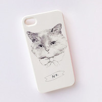 cat iphone case - lolcat iphone 4 / 4S - kitty cats iphone 5 / 5S samsung galaxy S3 S4