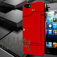 Red Pokedex Pokemon Case For iPhone 4/4s, iPhone 5/5S/5C, Samsung S3 i9300, Samsung S4 i9500 *rafidodolcasing*