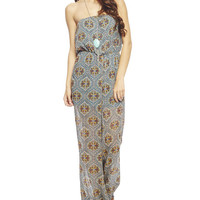 Boho Wide Leg Tube Jumpsuit | Wet Seal