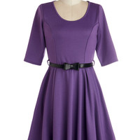 Abiding Beauty Dress in Purple | Mod Retro Vintage Dresses | ModCloth.com