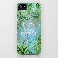 "Sky dreams. ""Enjoy every moment"" iPhone & iPod Case by Guido Montañés"