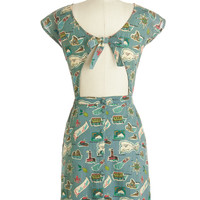 Map Happy Dress | Mod Retro Vintage Dresses | ModCloth.com