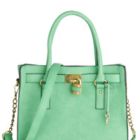 Full Course Load Bag in Jade - 14in | Mod Retro Vintage Bags | ModCloth.com
