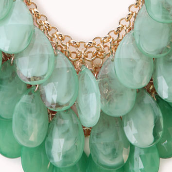Ombré Teardrop Necklace