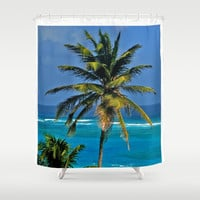 Sea Dreaming Shower Curtain by Catspaws