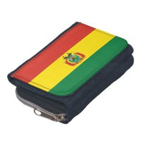 Bolivian flag wallet